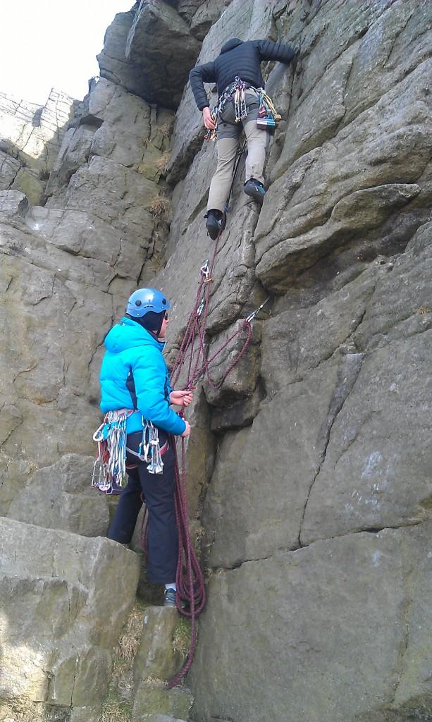 climbing adventure sports