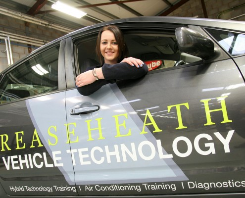 Motor Vehicle Courses At Reaseheath College Cheshire