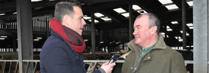 Methane gas from cows makes for illuminating interview