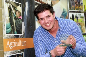 Agriculture apprentice of the year Adam Brown
