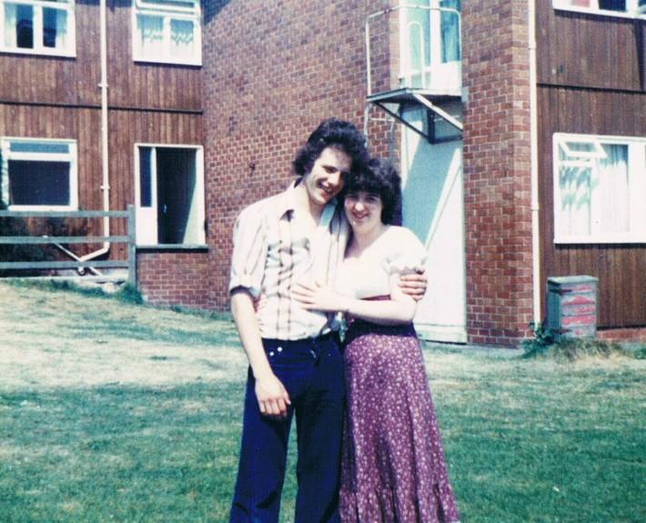 Alumni Lorraine and J Graham nuttingknittingnanna Engagement May 1980 for newsletter