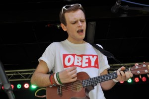 The Voice contestant Joe Keegan