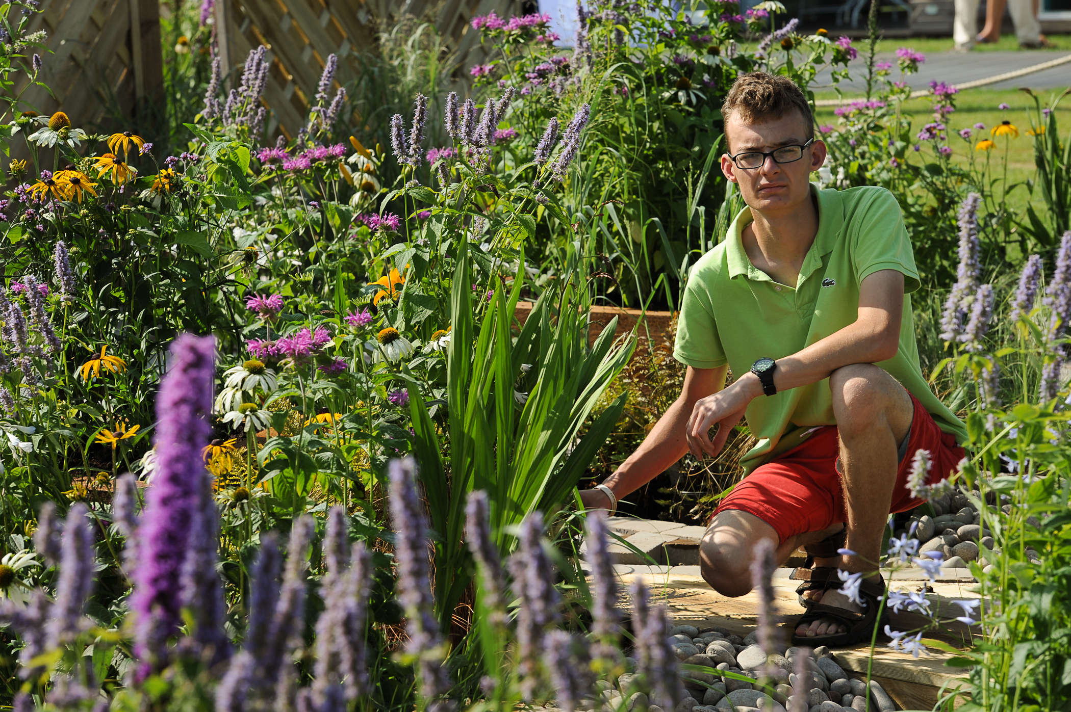 reaseheath landscape gardener wins place in national