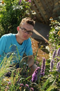 WorldSkills UK Landscape Gardening finalist Richard Carden