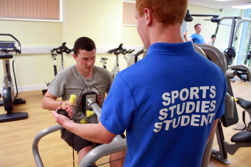 The Reaseheath gym - Reaseheath College