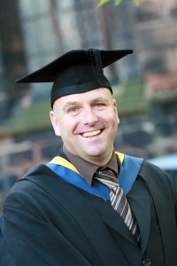 Steve Woods at Reaseheath Graduation 2014