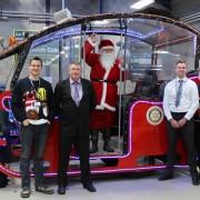 Reaseheath vehicle technicians give Santa a helping hand 27303b84c9e79