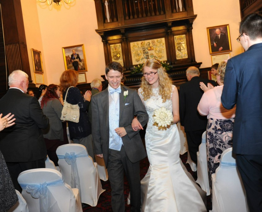 Food alumni James Yuill and  Rachel Frankish wed at Reaseheath Hall