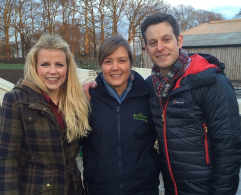 Anna Hughes is joined by presenters Ellie Harrison and Matt Baker