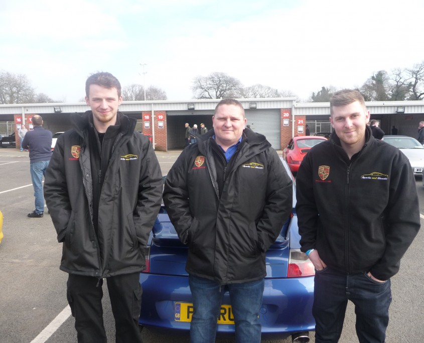 IMI motor L3 2013 grad David Bailey joins colleagues from Sports and Classic April 2015