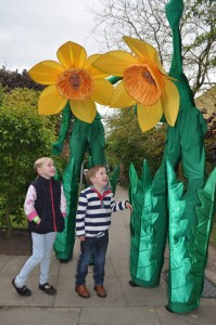 Jack and Annabel Jones from Woore meet Daff and Dehlia