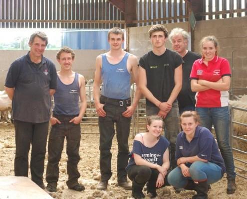 Sheep shearing success - Reaseheath College