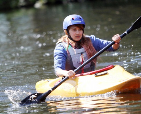 Adventure sports - kayaking