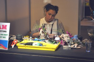 Robyn Longden competing at The Skills Show 2015