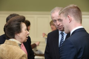 Robert Yardley meets Princess Anne at the Oxford Farming Conference