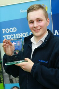 Advanced Apprentice of the Year James Tickner of Hitchen Foods