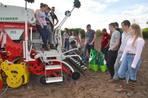 Level 3 Diploma in Agriculture students will be involved with the project