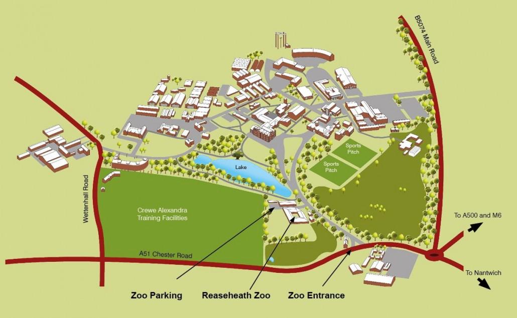 reaseheath-zoo-map