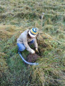 FES Adviser Jane Atkinson Planting