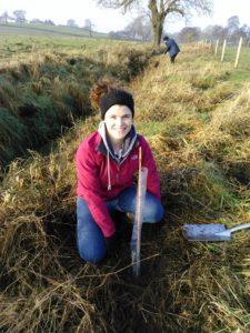 Student Ella Wheeler Black Poplar Planting