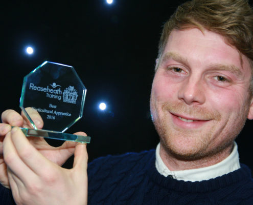 Best horticulture apprentice James Alley