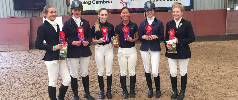 Reaseheath S Equine Team Rides High Reaseheath College