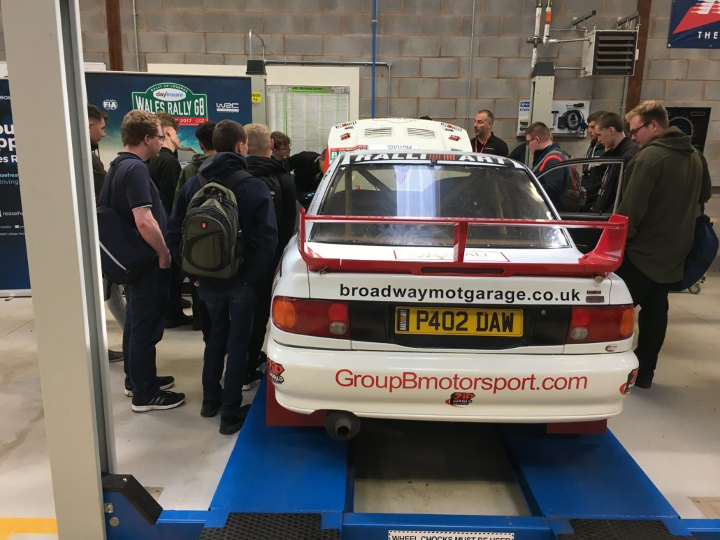 inspirational rally experience for motor vehicle students reaseheath college. Black Bedroom Furniture Sets. Home Design Ideas