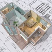 CAD visualisation/Model of building