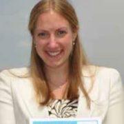 Sara Pederson, 2013 recipient