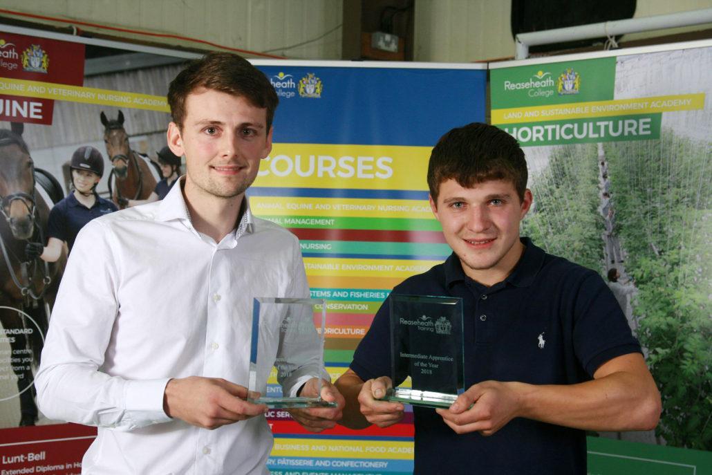 Reaseheath's apprentice stars recognised - Reaseheath College