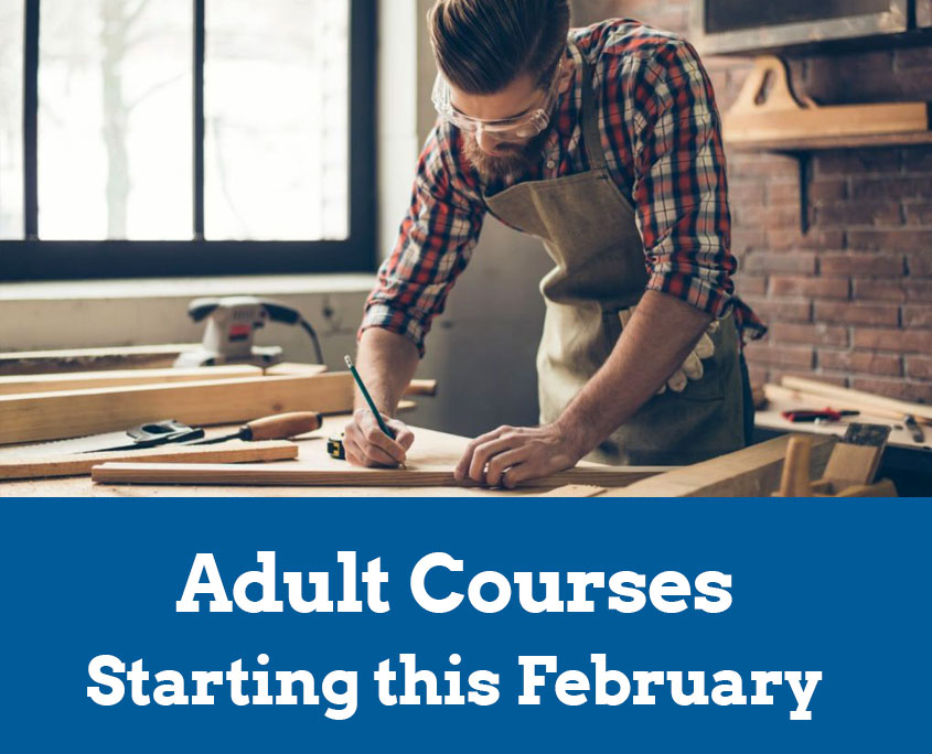 Adult Courses - Starting this February 2019