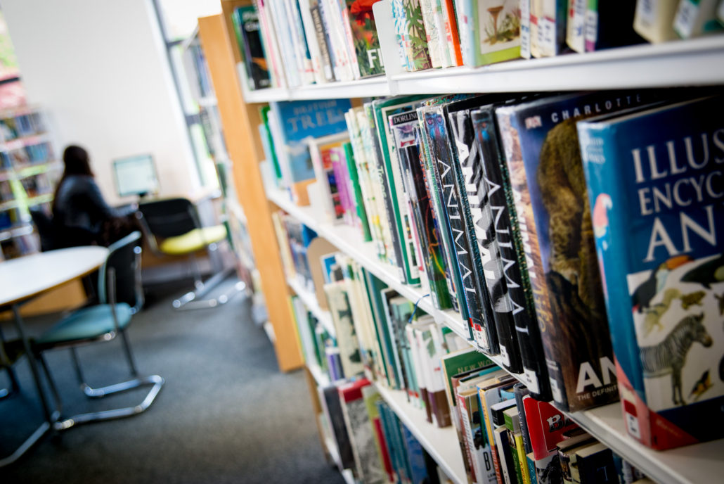Libary Books - Reaseheath College