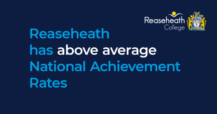 Reaseheath has above average National Achievement Rates