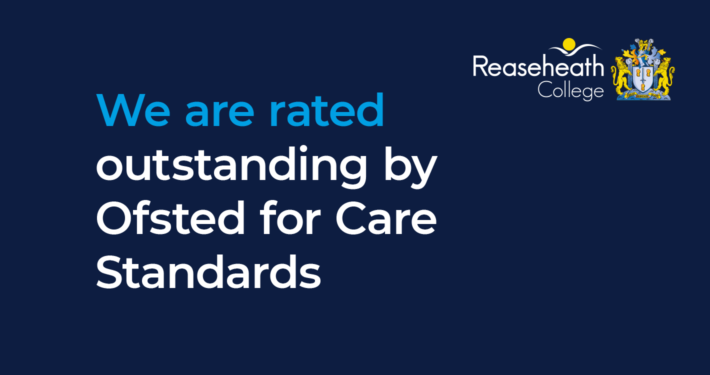 We are rated outstanding by Ofsted for Care Standards