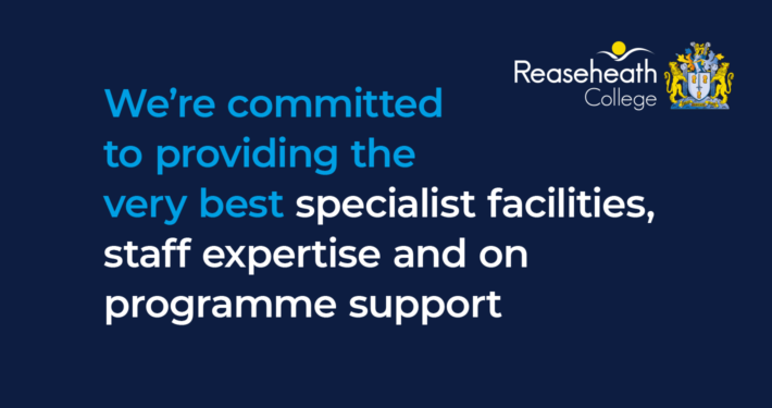 We're committed to providing the very best specialist facilities, staff expertise and on programme support